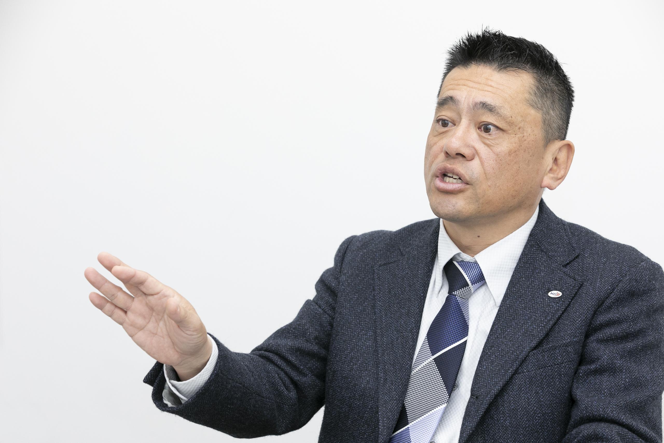 日本電通株式会社の橋本社長
