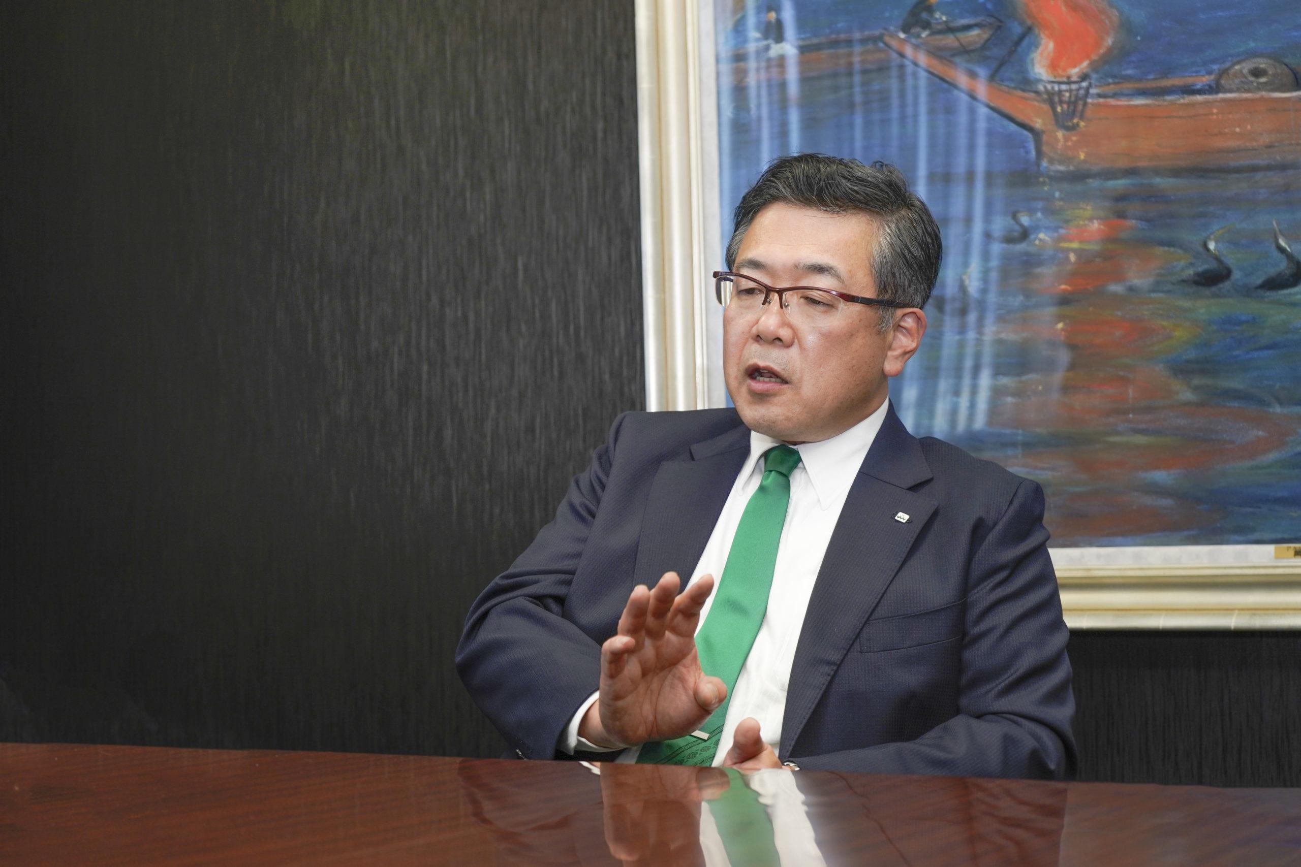 照栄建設株式会社の冨永社長