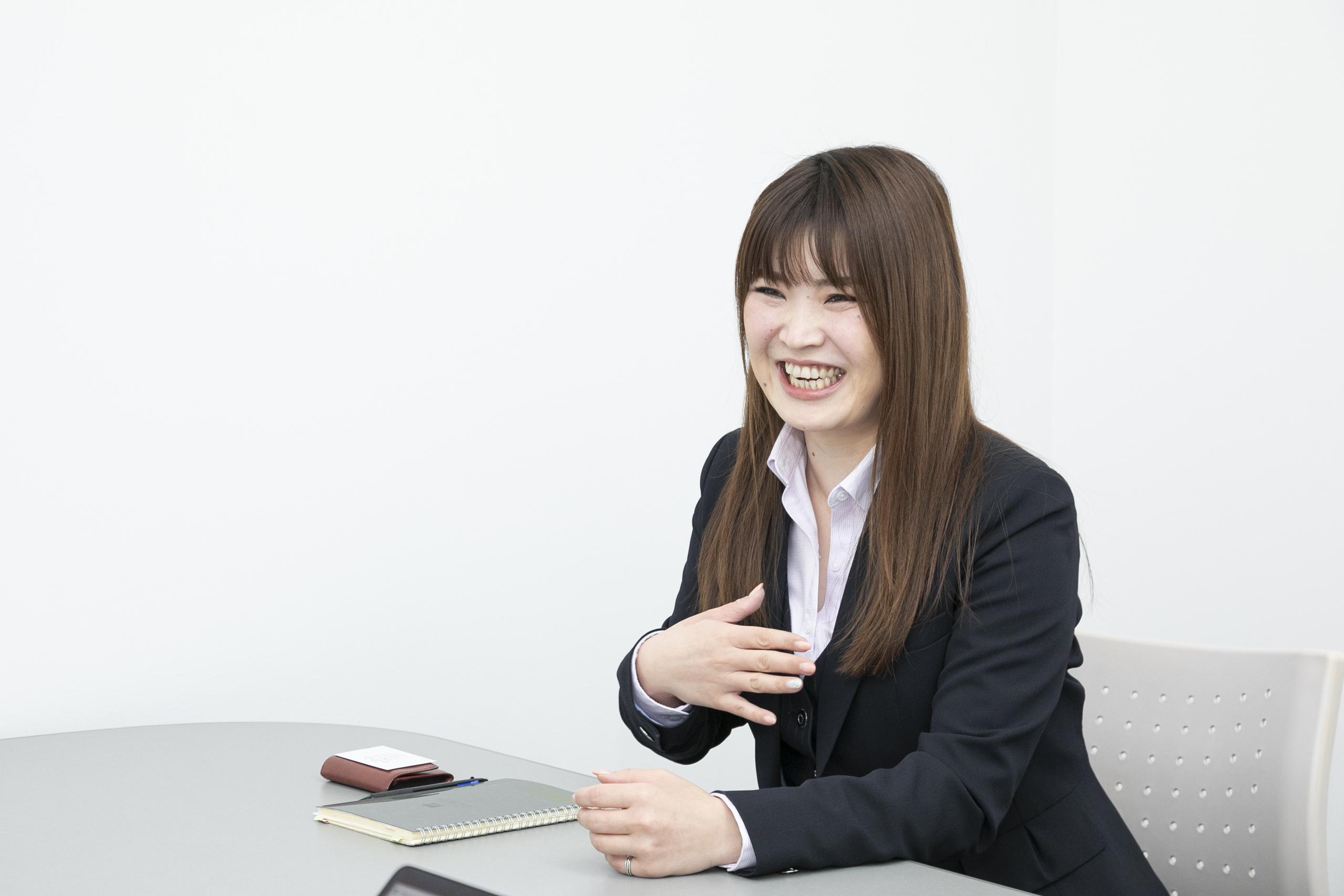 日本電通株式会社人事部主任園田さん